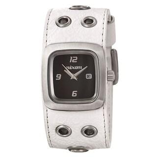 Nixon Women's 'The Mini GTO' Stainless Steel Quartz Watch - White