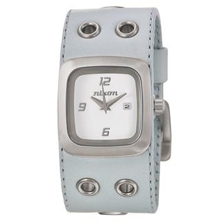 Nixon Women's 'The Mini GTO' Stainless Steel Quartz Watch - Light Blue