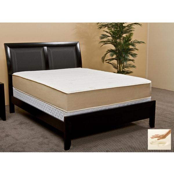 Rest Assure High Density 10.5-inch California King-size Memory Foam Mattress