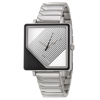 Nixon Women's 'The Metric' Stainless Steel Quartz Watch