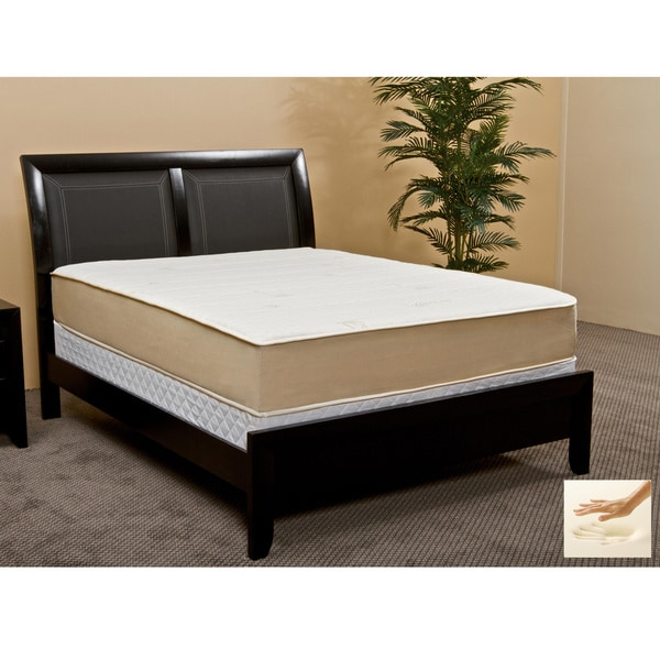 Rest Assure High Density 10.5-inch Twin XL-size Memory Foam Mattress
