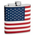 'The Patriot' 6-Ounce American Flag Flask