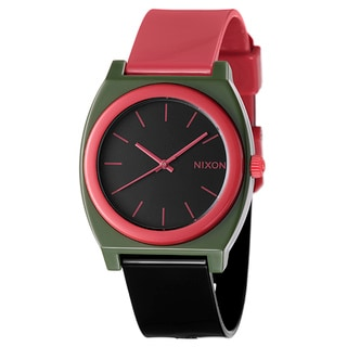 Nixon Men's 'The Time Teller' Polycarbonate Quartz Watch