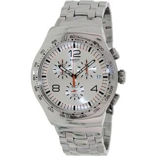 Swatch Men's 'Irony' Stainless Steel Swiss Quartz Watch