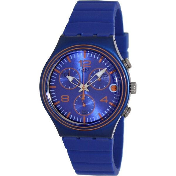 Swatch Men's 'Irony' Blue Dial Watch
