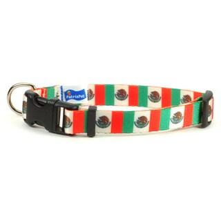 Mexican Flag Dog Collar