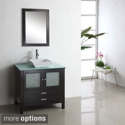 Virtu Brentford 36-inch Single Sink Bathroom Vanity Set
