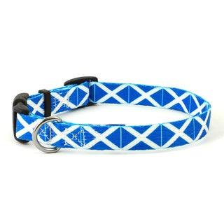 Scottish Flag Dog Collar