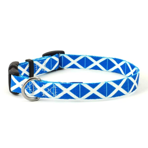 Scottish Flag Dog Collar