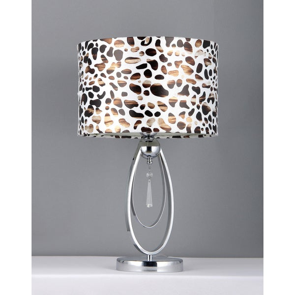 Giraffe Crystal Table Lamp