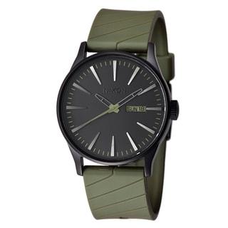 Nixon Men's 'The Sentry' Stainless Steel Quartz Watch