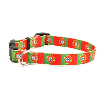 Portuguese Flag Dog Collar