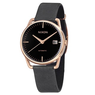 Nixon Men's 'The Mellor' Goldplated Stainless Steel Automatic Watch