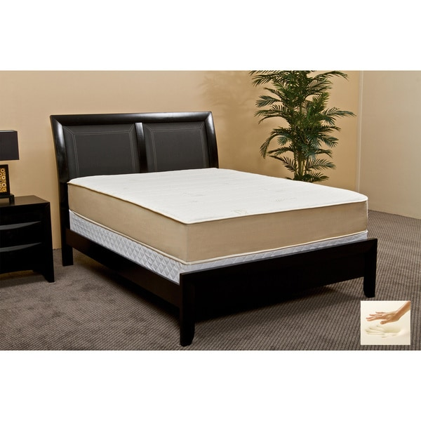 Rest Assure High Density 10.5-inch King-size Memory Foam Mattress