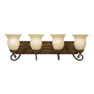 Transitional 4-light Bronze Bath/ Vanity