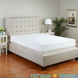 Renew and Revive Sienna 11-inch Queen-size Latex Mattress