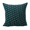 Hand-woven Ikat Fabric Decorative Pillow (India)