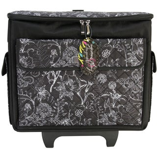 singer large rolling sewing machine tote bag