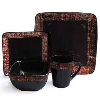 Sedona Flame 16-piece Dinner Set