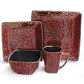 Mojave Red 16-piece Dinner Set