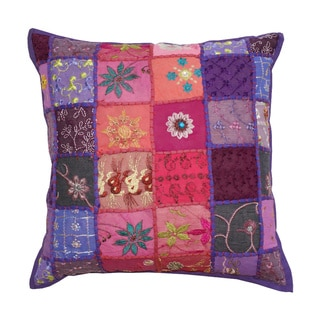 Barmer Patchwork Decorative Pillow (India)