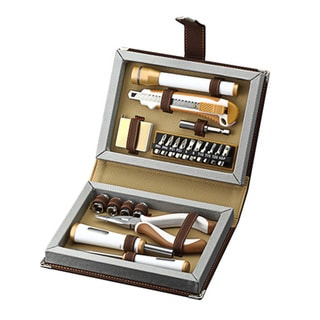 22-piece Brown Tool Set