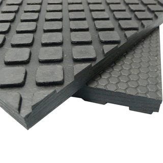 Rubber-Cal Maxx-Tuff Floor Protection Mats - 1/2