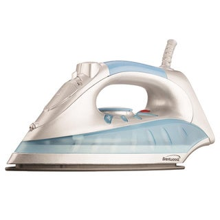 Brentwood MPI-60 Non-Stick Steam-Dry, Spray Iron- Aqua