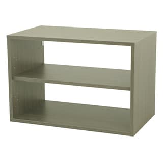 Organized Living freedomRail Big O-Box Driftwood Shelf Unit
