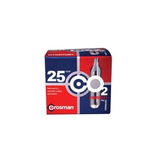 Crosman CO2 Cartridges - 25 Pack