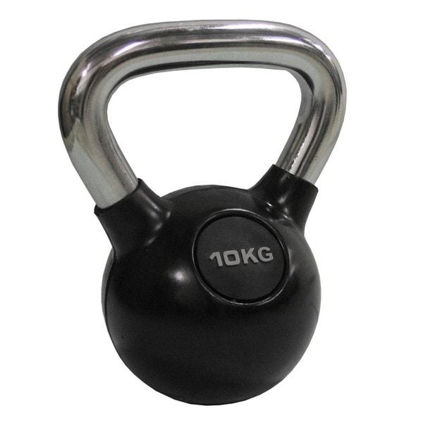 Chrome Kettlebell 10kg (22.2 pounds)