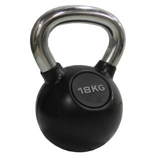 Chrome Kettlebell 18kg (39.6 pounds)