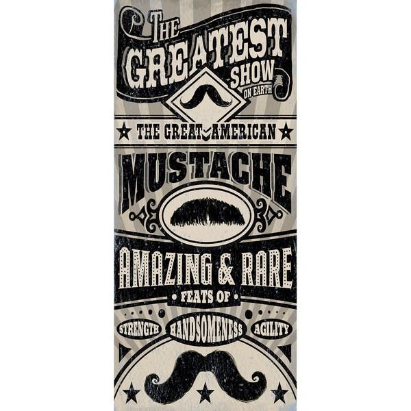 Cory Steffen 'Great American Mustache' Paper Print (Unframed)