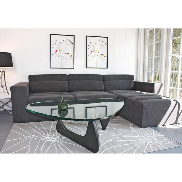 Decenni Custom Furniture 39 Tech 39 Modular Charcoal Grey Sofa 15567586 Shopping