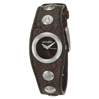 Nixon Women's 'The Naughty' Stainless Steel Quartz Watch