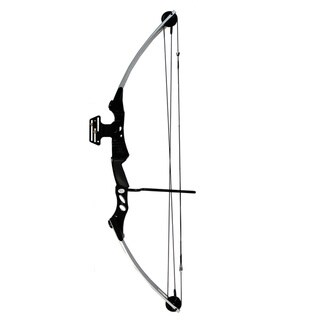 Black 55-pounds/ 29-inch Compound Bow