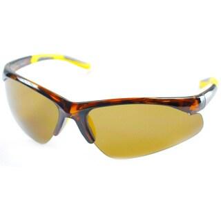 Izod Unisex IZ 348 21 Tortoise Plastic Sport Sunglasses