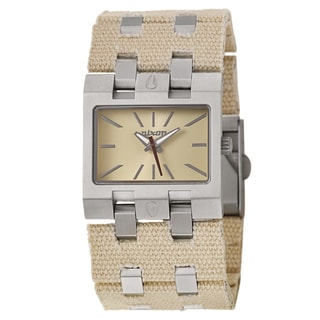 Nixon Women's 'The RIG' Stainless Steel Quartz Watch