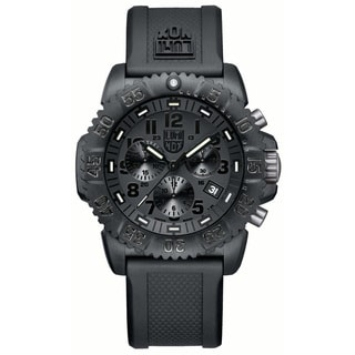 Luminox Men's 'Navy Seal Colormark Chrono' Black Dial Watch