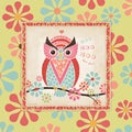 Stephanie Marrott 'Owl IV' Paper Print (Unframed)