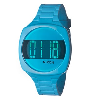 Nixon Women's 'The Dash' Blue Digital Watch
