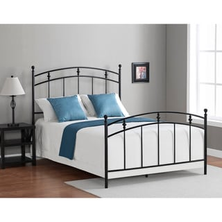 Pogo Full Size Black Licorice Finish Bed Frame