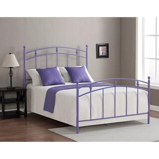 pogo full size lavender bed frame overstock shopping great deals on kids 39 beds. Black Bedroom Furniture Sets. Home Design Ideas
