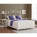 Pogo Full Size Powdered Sugar Finish Bed Frame