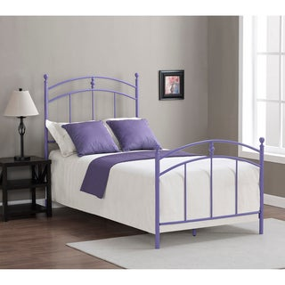 Pogo Twin Size Lavender Finish Bed