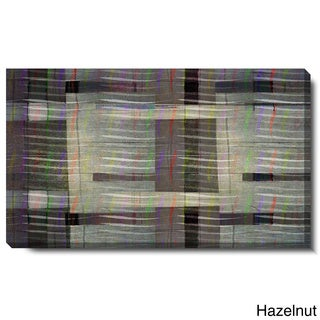 Studio Works Modern 'Hazelnut Waves' Gallery Wrapped Canvas