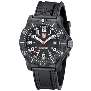 Luminox Men's 'Black OPS Carbon' Black Dial Watch