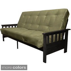 Provo Queen-size with Inner Spring Futon Sofa Sleeper Bed