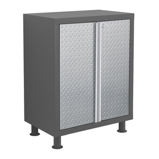 NewAge Products Bold Diamond Plate Base Cabinet