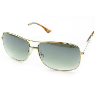 Izod Unisex IZ 352 61 Gold Metal Aviator Sunglasses